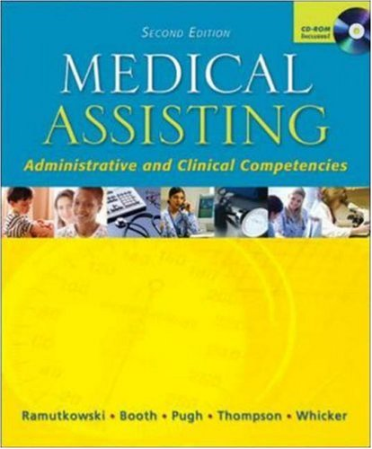 MP: SE Medical Assisting with Student CD  &  Bind-in Card - Barbara Ramutkowski; Kathryn Booth; Donna Pugh; Sharion Thomson; Leesa Whicker; Donna Jeanne Pugh