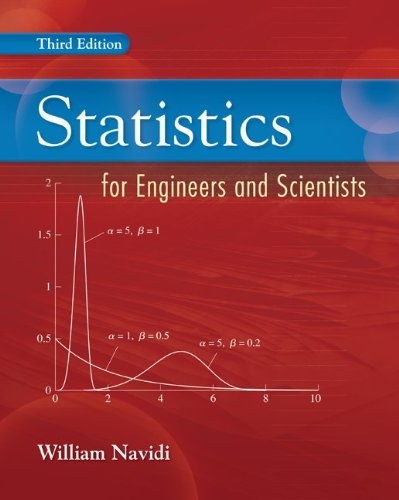 Statistics for Engineers and Scientists - William Navidi