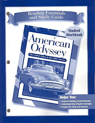 American Odyssey; Reading Essentials  &  Study Guide, SE - McGraw-Hill