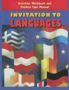 Invitation to Languages Activities Workbook and Student Tape Manual