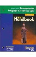 Holt Literature and Language Arts California: Universal Access Language Skills Grade 9 - Holt Rinehart & Winston
