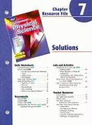 Holt Science Spectrum Physical Science Chapter 7 Resource File: Solutions