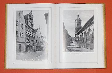 Deutsche Baukunst des Mittelalters und der Renaissance / Old German Architecture / Ancienne architecture allemande.