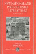 New National Post-Colonial Literatures - An Introduction