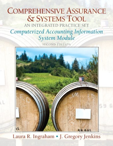 Computerized Practice Set for Comprehensive Assurance  &  Systems Tool (CAST)-Integrated Practice Set (2nd Edition) (Pearson Custom Business - Laura R. Ingraham; J. Gregory Jenkins