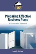 Preparing Effective Business Plans: An Entrepreneurial Approach