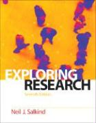 Exploring Research - Salkind, Neil J.