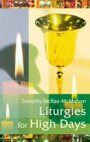 Liturgies for High Days
