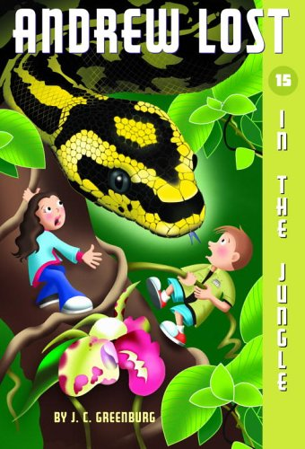 Andrew Lost #15: In the Jungle (A Stepping Stone Book(TM)) - J.C. Greenburg