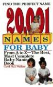 20,001 Names for Baby: Revised and Updated