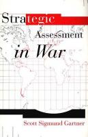 Strategic Assessment in War