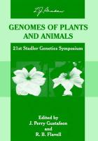 Genomes of Plants and Animals
