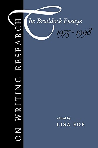 On Writing Research: The Braddock Essays 1975-1998 - Lisa Ede
