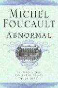 Abnormal: Lectures at the College de France 1974-1975