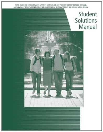 Student Solutions Manual for Keller's Statistics for Management and Economics, 8th - Gerald Keller