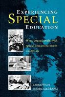 Experiencing Special Education