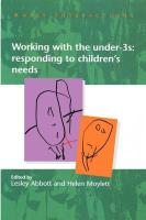 Working with the Under Threes: Responding to Children's Needs