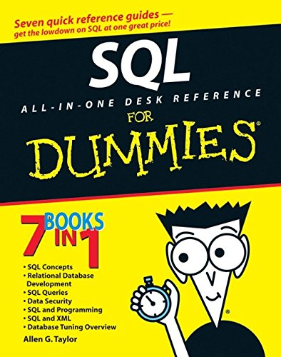 SQL All-in-One Desk Reference For Dummies - Allen G. Taylor