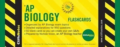 Cliffsnotes AP Biology Flashcards - Vivion, Nichole
