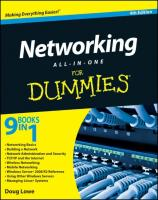Networking All-in-One For Dummies (For Dummies (Computers))
