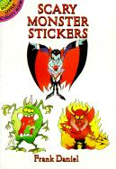 Scary Monster Stickers - Daniel, Frank
