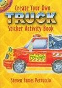 Create Your Own Truck Sticker Activity Book