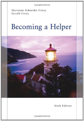 Becoming a Helper - Marianne Schneider Corey, Gerald Corey