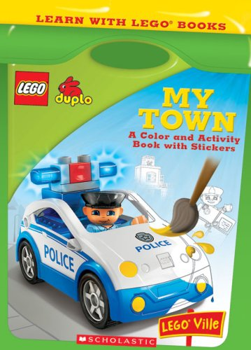 Learn With Lego: My Town - Scholastic Editorial