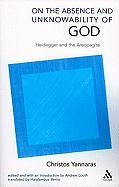 On the Absence and Unknowability of God: Heidegger and the Areopagite
