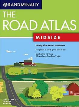 Rand McNally the Road Atlas: Midsize (Rand McNally Midsize Road Atlas) - Rand McNally Staff