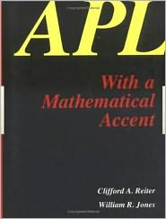 APL with a Mathematical Accent