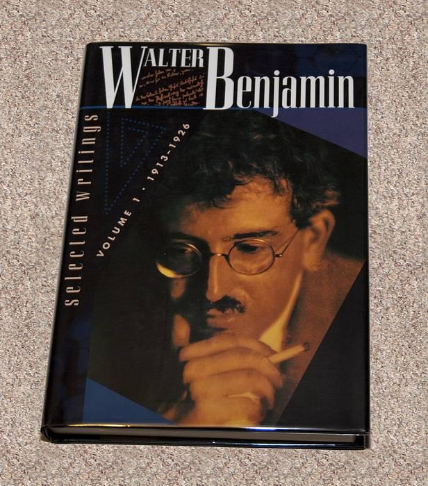 WALTER BENJAMIN: SELECTED WRITINGS: VOLUME 1: 1913-1926 - Rare Fine Copy of The First American Edition/First Printing - ONLY COPY OF THE TRUE FIRST ONLINE - Benjamin, Walter (Translated by Various Contributors)