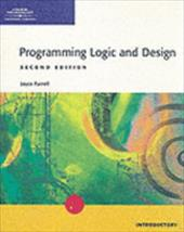 Programming Logic and Design - Introductory, Second Edition