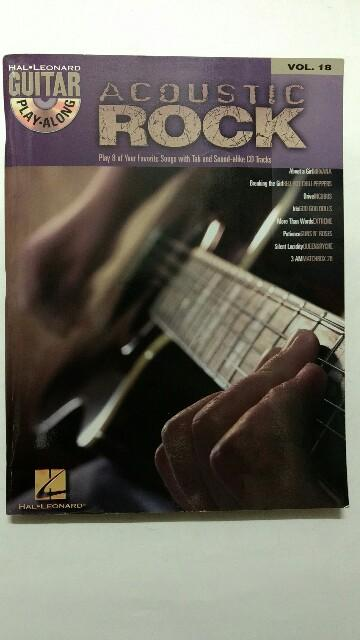 Guitar Play Along - Volume 18 : Acoustic Rock [Gtr Tab Book/CD]. - Various