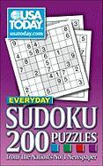 USA Today Everyday Sudoku: 200 Puzzles from the Nation's No. 1 Newspaper