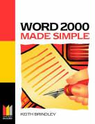 Word 2000 Made Simple - Brindley