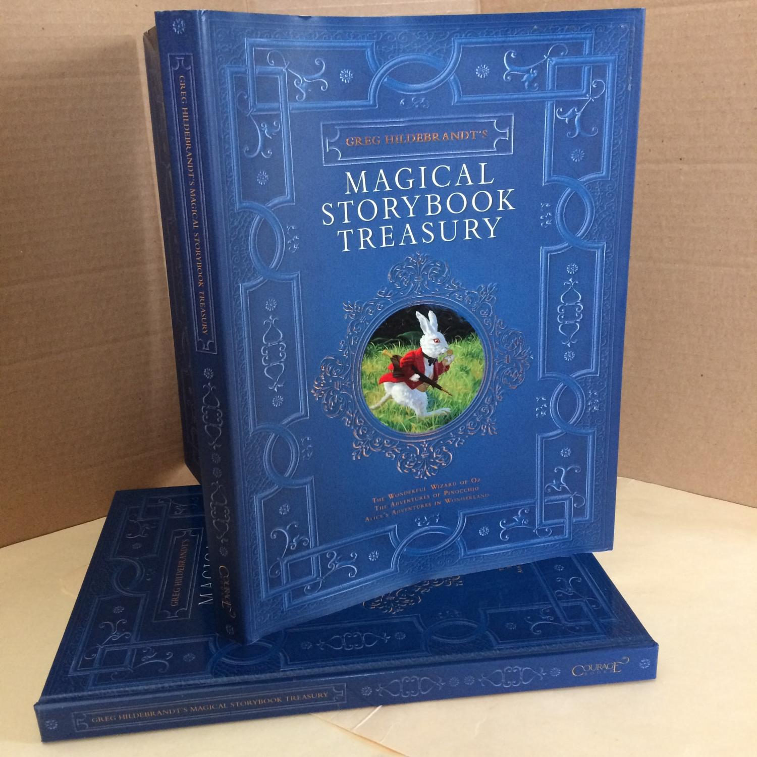 Greg Hildebrandt's Magical Storybook Treasury: The Wonderful Wizard of Oz, The Adventures of Pinocchio, Alice's Adventures in Wonderland - Baum, Frank; Collodi, Carlo; Carroll, Lewis