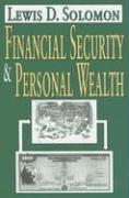 Financial Security & Personal Wealth - Solomon, Lewis D.