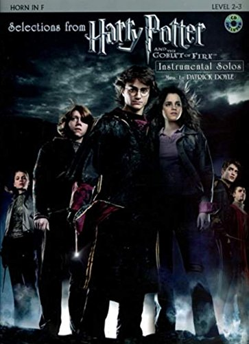 Selections from Harry Potter and the Goblet of Fire: Horn in F, Book & CD - Patrick Doyle