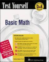 Test Yourself: Basic Mathematics