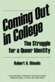 Coming Out in College: The Struggle for a Queer Identity