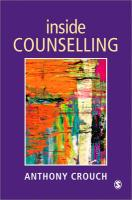 Inside Counselling: Becoming and Being a Professional Counsellor
