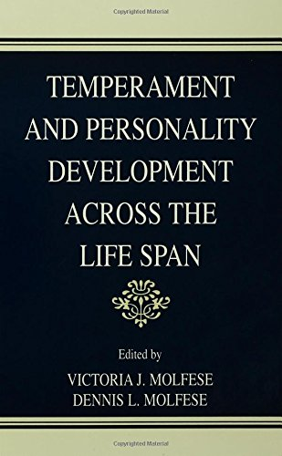 Temperament and Personality Development Across the Life Span 2000 Hardcover