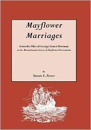 Mayflower Marriages