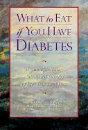 What to Eat If You Have Diabetes - Keane, Maureen