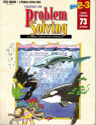 Strategies for Problem Solving  Grades 2-3 - Anne Wallingford; Arnold Yellin