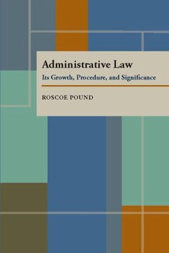Administrative Law: Its Growth, Procedure, and Significance