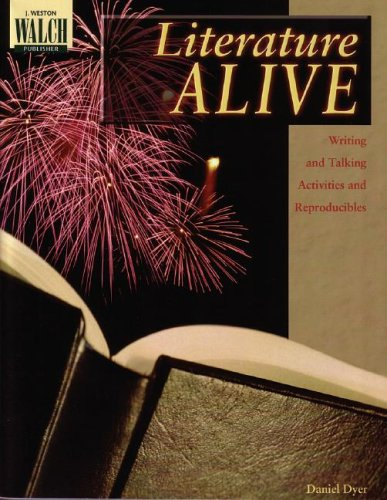 Literature Alive:  Writing and Talking Activities and Reproducibles - Daniel Dyer