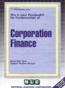 Corporation Finance: Basic Mini Text, Subject Outline Review
