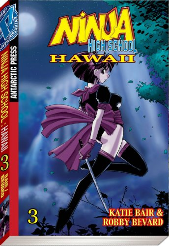 Ninja High School Hawaii Pocket Manga Volume 3 (v. 3) - Katie Bair; Robby Bevard